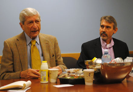 Marvin Kalb and Fritz Mayer
