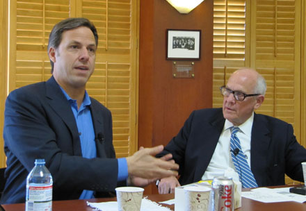Jake Tapper and Alex Jones