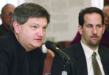 James Risen and Eric Lichtblau of the New York Times.