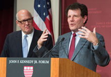 Alex S. Jones and Nicholas Kristof