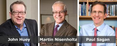 John Huey, Martin Nisenholtz and Paul Sagan