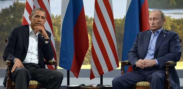 Obama and Putin June 2013