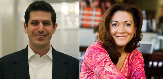 Nick Sinai and Michele Norris