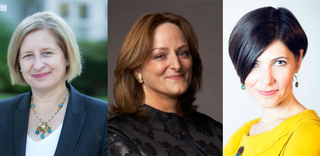 Ann Marie Lipinski, Meg Urry, Jennifer Bogo
