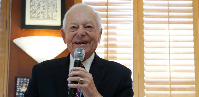 Bob Schieffer Discusses Money in Politics and the 2016 Presidential Candidates