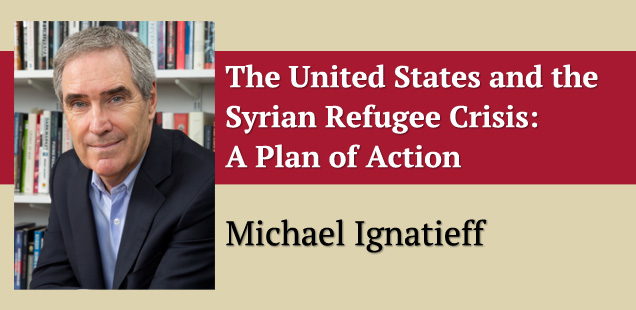 The United States and the Syrian Refugee Crisis: A Plan of Action
