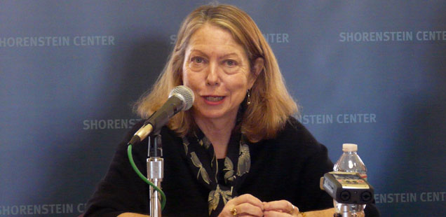 Jill Abramson – Election 2016: Is There Enough Quality Campaign Coverage?
