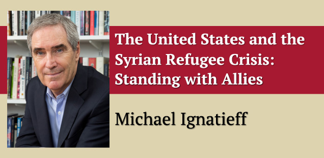The United States and the European Refugee Crisis: Standing with Allies