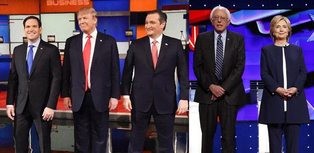 Republican and Democratic debates