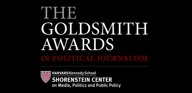 2017 Goldsmith Seminar on Investigative Reporting