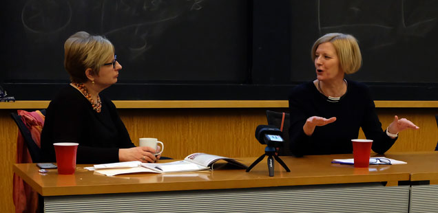 Helen Boaden and Ann Marie Lipinski: Media in the Age of Brexit and Trump