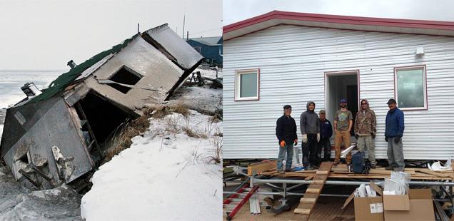 Houses in Alaska