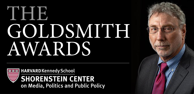 Goldsmith Awards Ceremony 2019 with Marty Baron of The Washington Post
