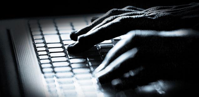 Hands at keyboard